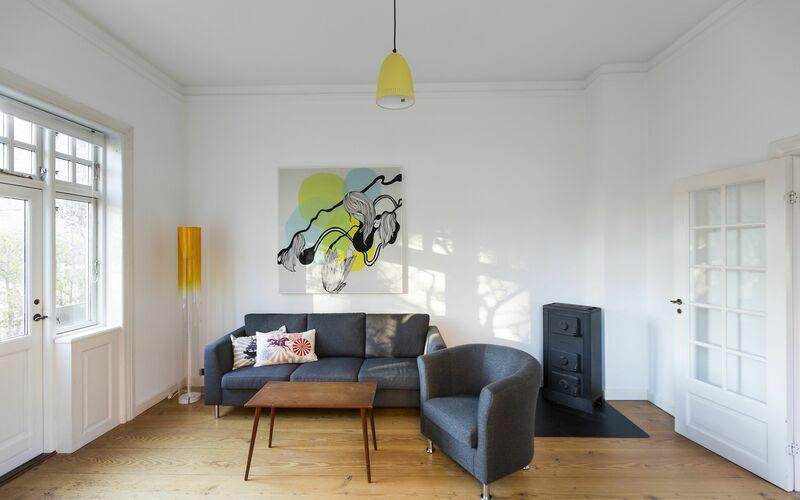 Østerbro - The Quiet Area - Valdemar Holmers Gade - 3 Bedrooms - Ground Floor