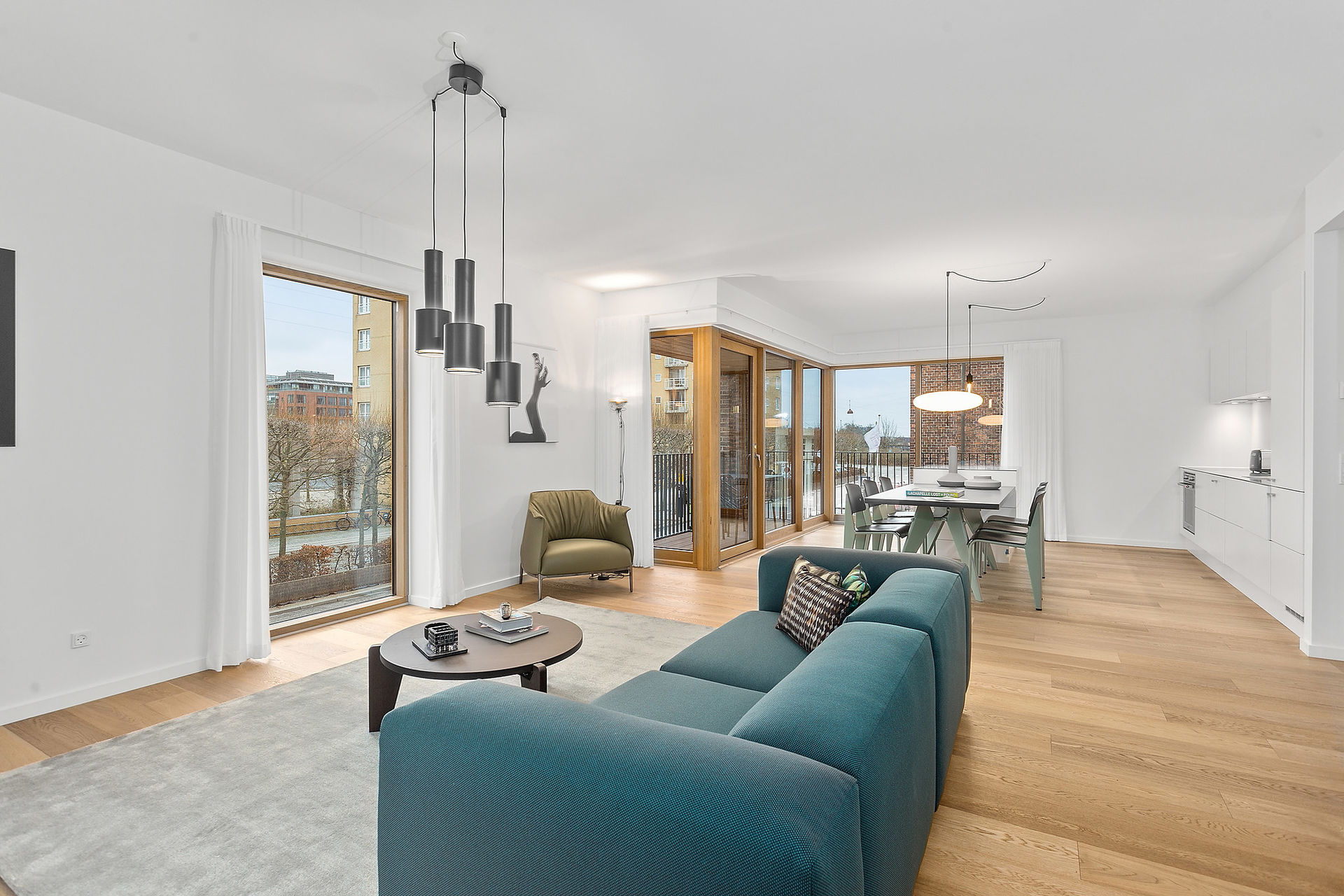 Østerbro 2 Bedroom Apartment