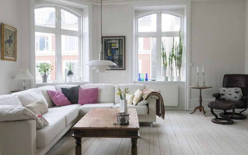 Østerbro - 2 Bedroom Apartment - 3 People