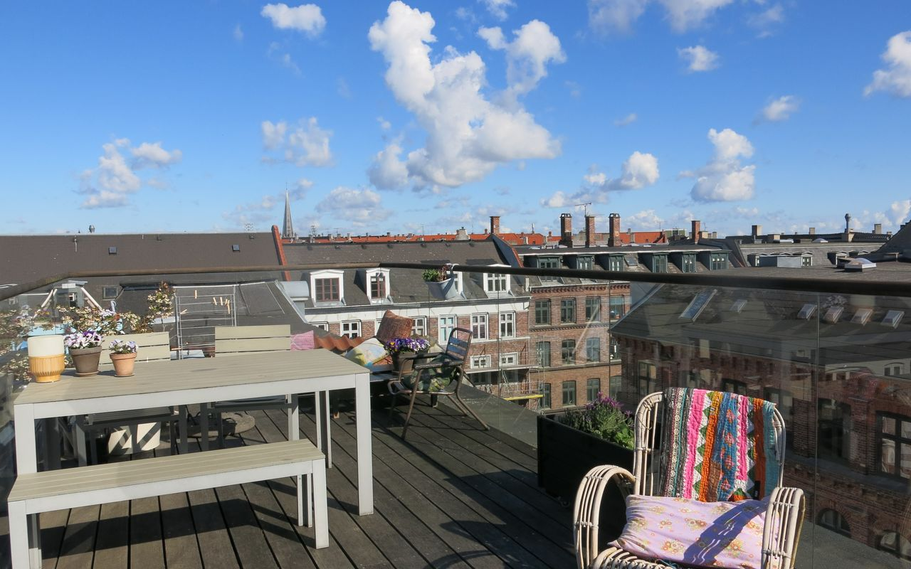 Østerbro - 4 Bedroom - Loft - Private Rooftop