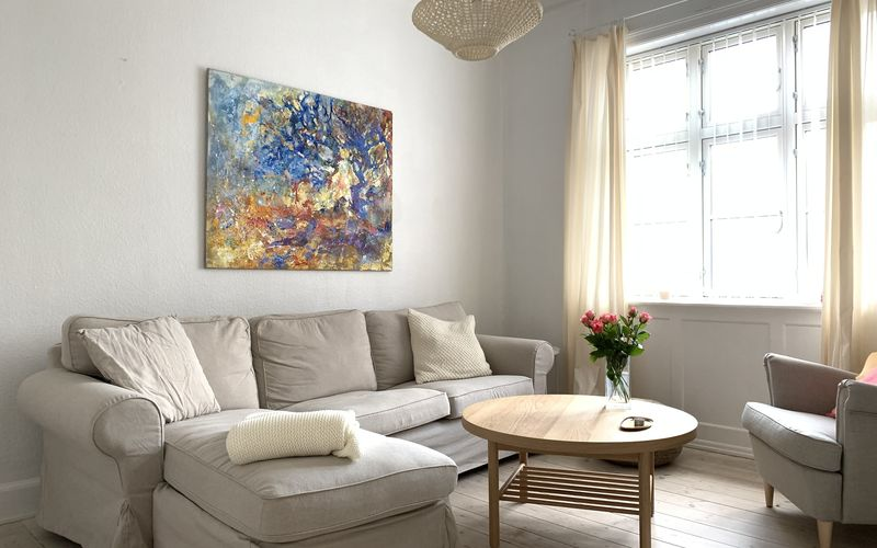 Østerbro-1 Bedroom-2 People-close To Metro