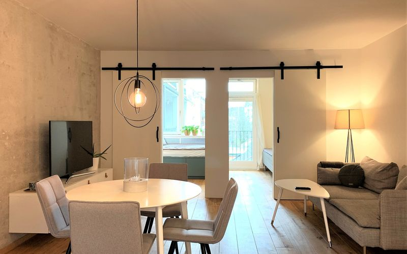 Nørrebro - 2 Bedrooms - 2 People-private Parking