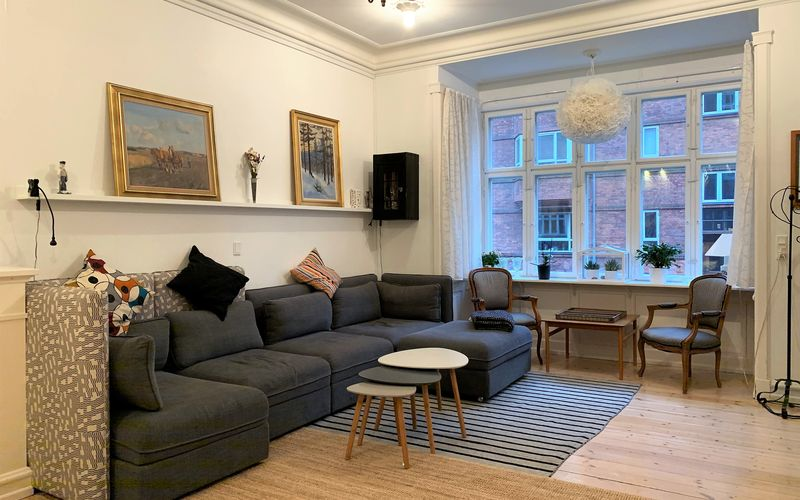 Østerbro - 3 Bedrooms - Space For 6 People